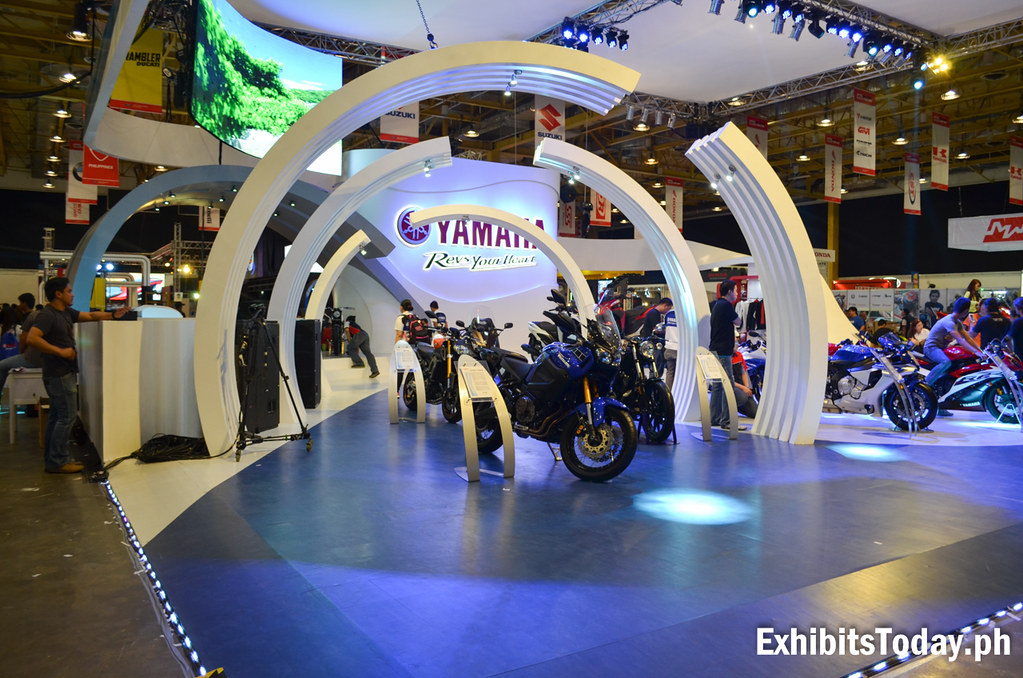 Front of Yamaha Motor Philippines Trade Show Pavilion