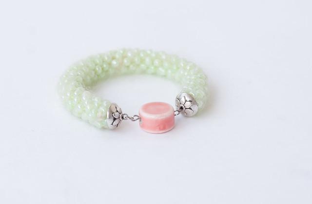fluffy bracelet