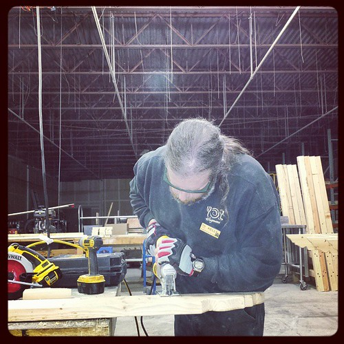 Jigsawing. #woodworking #carpentry #tools