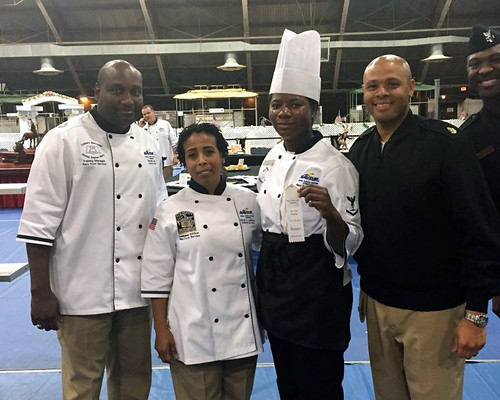 USS Pearl Harbor Sailors Compete at 2015 Military Culinary Arts Competition