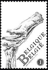 16 Markt Van Antwerpen timbre a