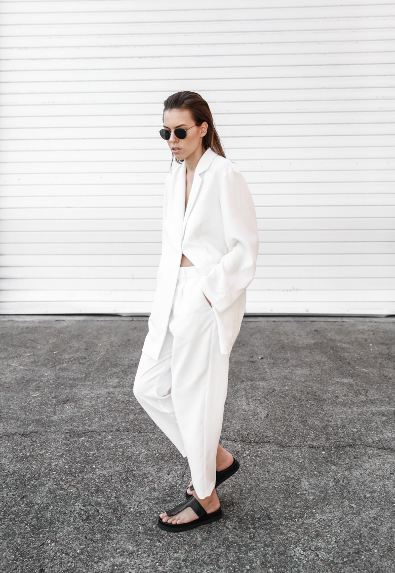 BC x MODERN LEGACY collection white on white suit street style fashion blog (1 of 1)
