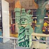 Lady Liberty looks so edgy in Lego form.