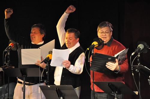 Hal Wiedeman, Brian Troxell, and Daniel Kiernan