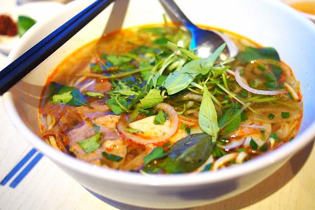 bun bo hue. Little Vietnam Restaurant & Cafe, 511 Guillemard Road, Singapore