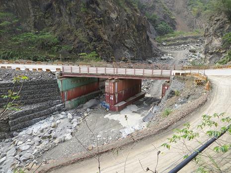 莫拉克洪災後橋梁重建,作者Ckbubutp,CC BY-SA 4.0授權。