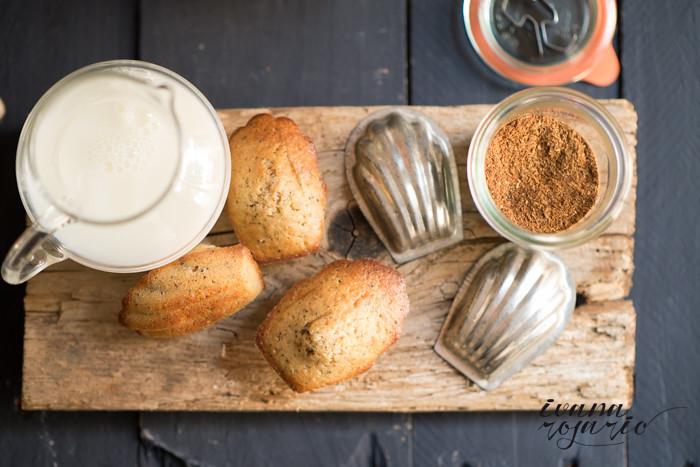 madeleines 5 especias y semillas amapola