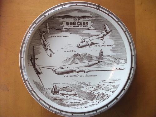 Douglas Aircraft Company Commemorative Plate