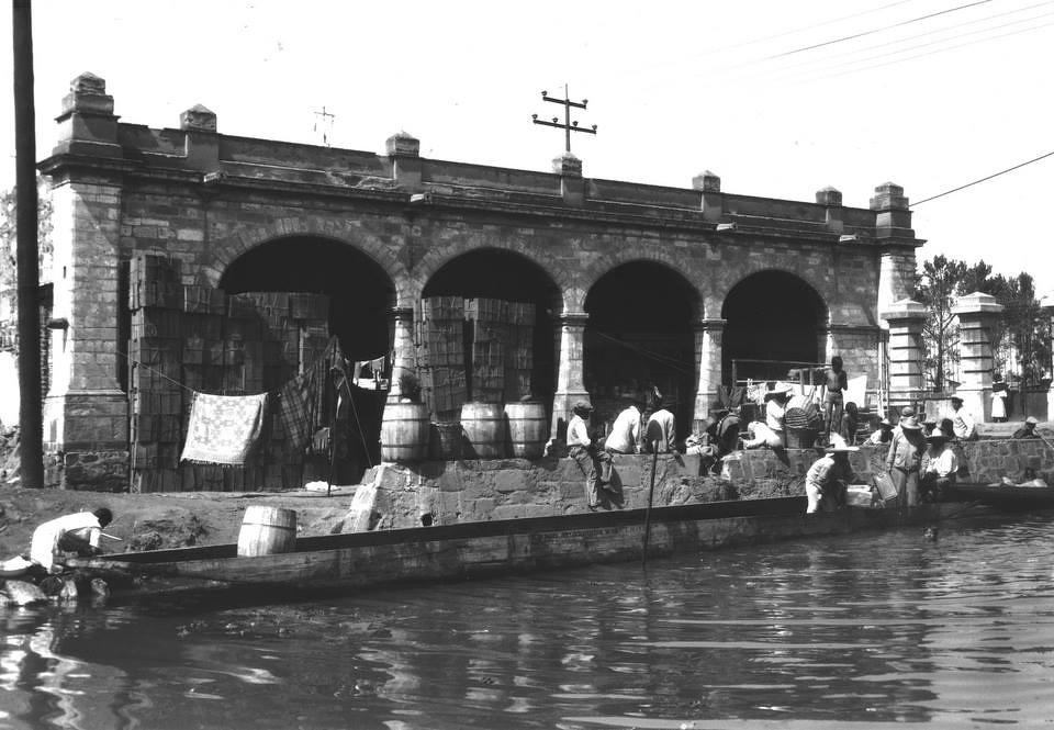 1920 Garita De La Viga La Ciudad De M 233 Xico En El Tiempo