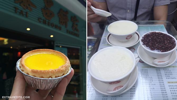 tai cheong egg tart yee shun milk company dessert hong kong