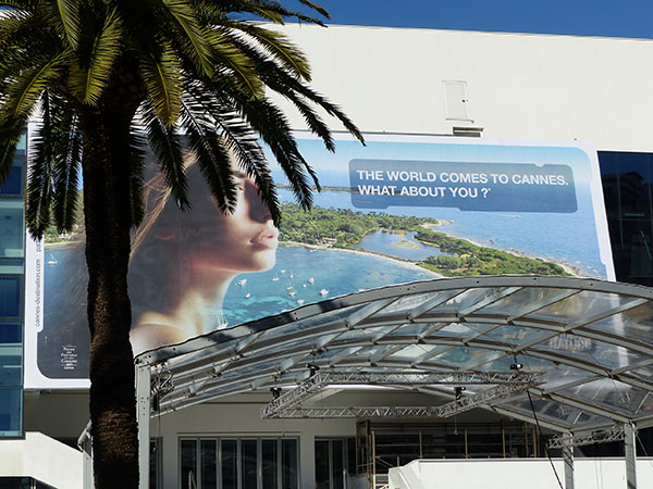 the world comes to Cannes