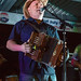 Jamie Bergeron and the Kickin' Cajuns, Erath 4th of July Festival, July 2, 2016