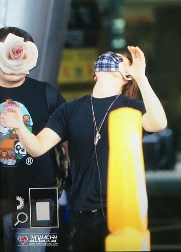 BIGBANG arrival Seoul ICN from Chengdu 2016-07-04 (4)