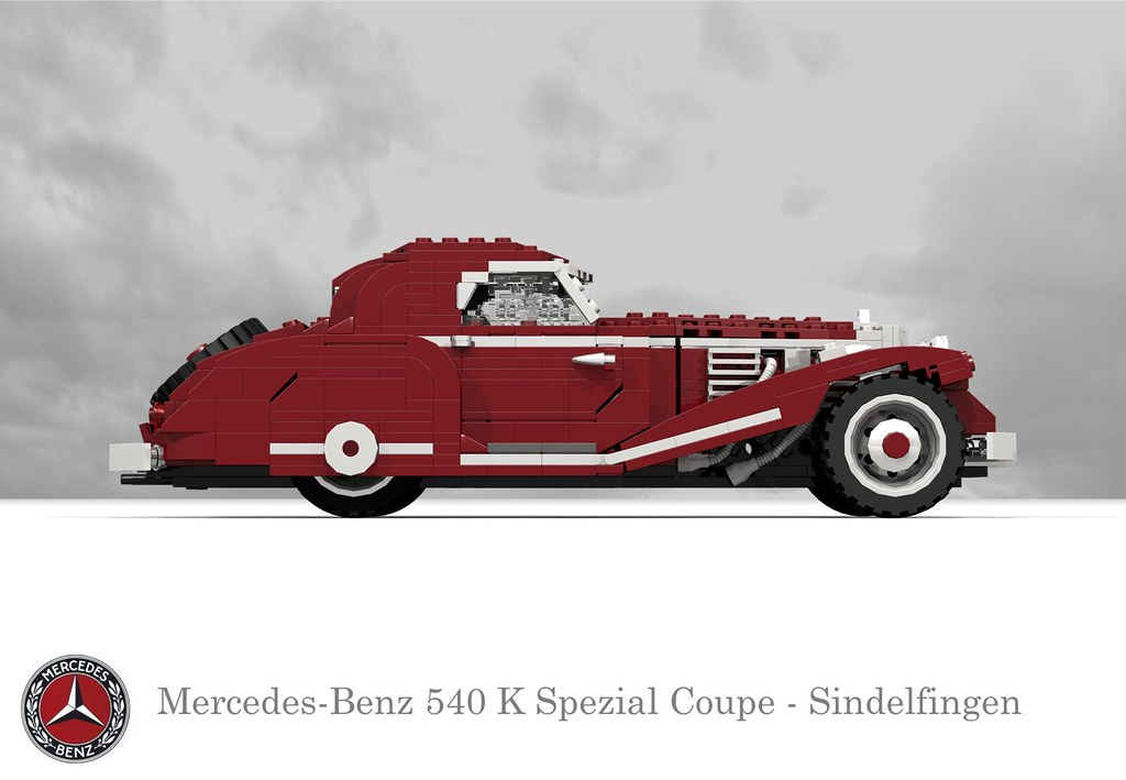 Mercedes Benz 540K Spezial Coupe