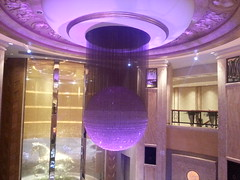 Ceiling Decoration at MGM Macau