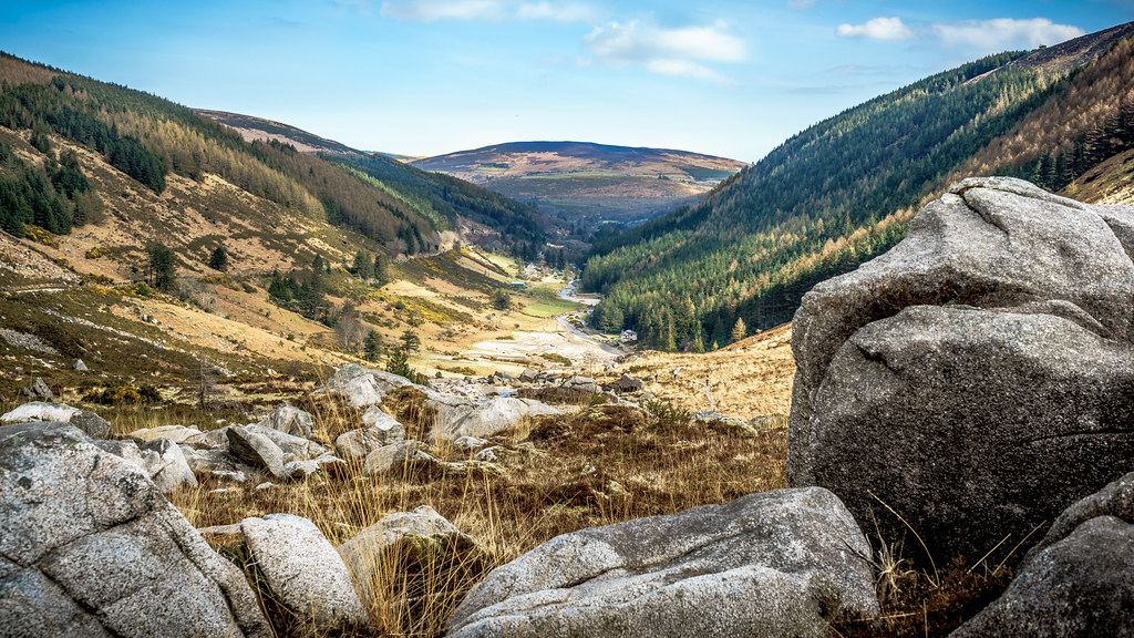 Glendalough, Wicklow, Ireland, Landscape photography picture