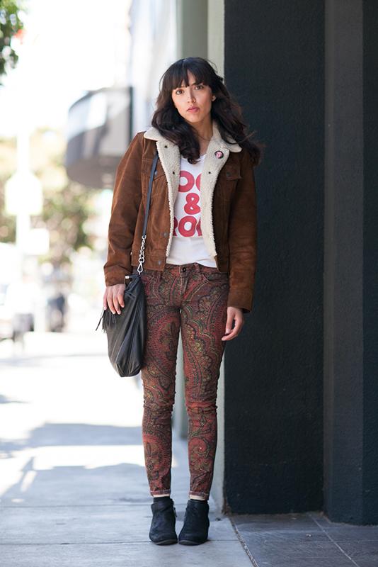 Brittani street style, street fashion, women, San Francisco, Valencia Street, Quick Shots