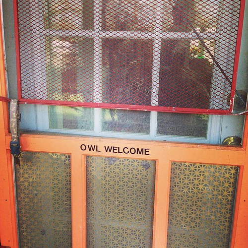 Owl Welcome.