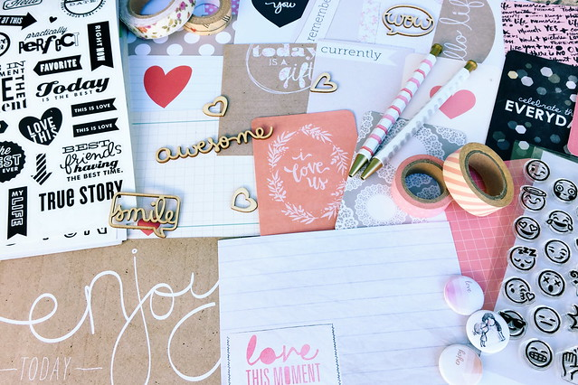 "8 1/2 x 11"" pocket scrapbook idea // guest post"