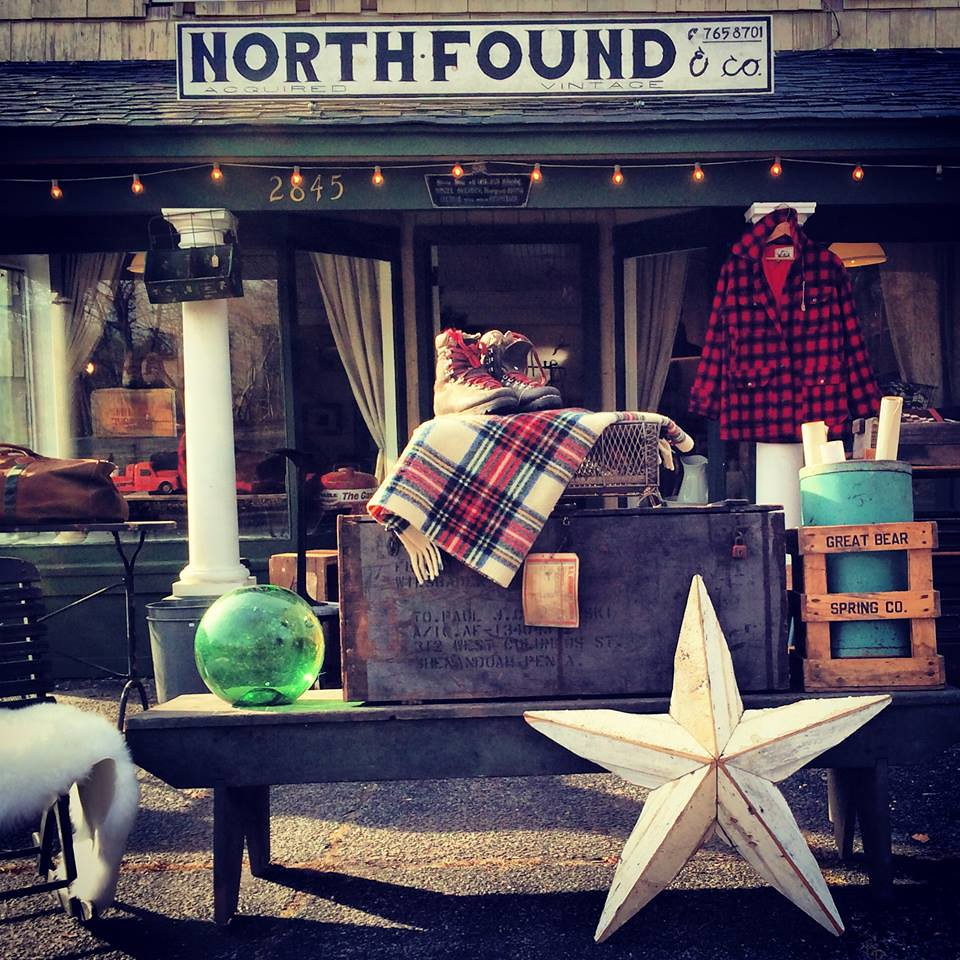 north found vintage shop