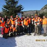2014 - zec Forestville- initaiton chasse groupe_intiesparrain