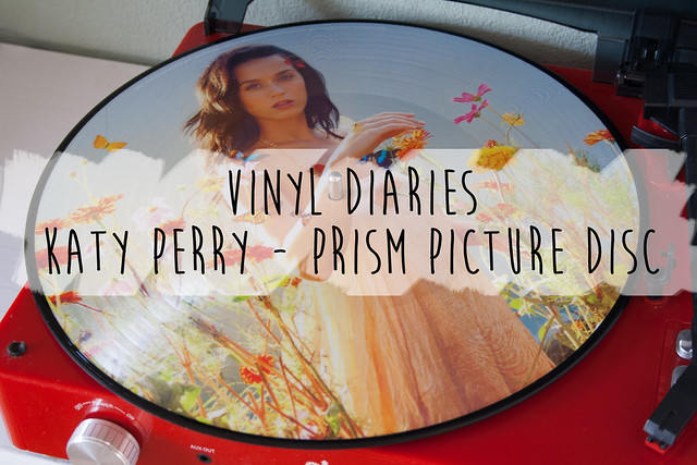 Katy Perry PRISM picture disc