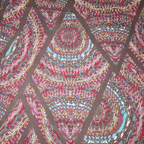 Tribal print rayon