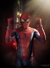 Spiderman esposado