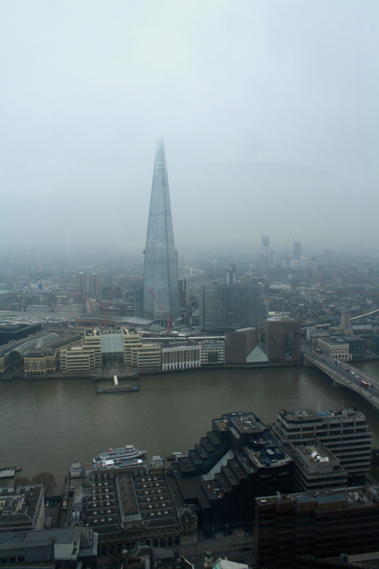 Views from the Sky Garden, London