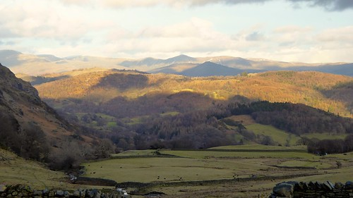 Coniston slopes panorama