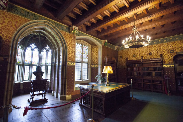 Library at Cardiff Castle