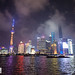 Night time on the Bund, Shanghai