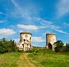 The ruins of Chervonohorod Castle
