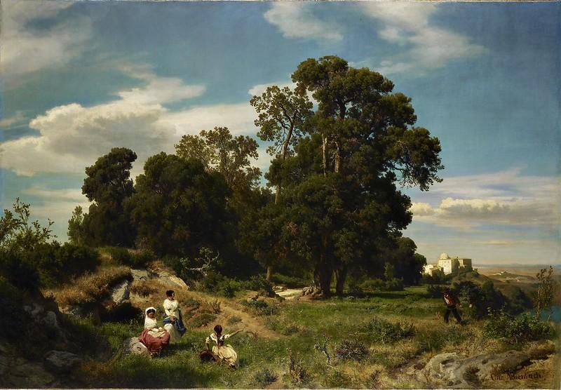 Oswald Achenbach - Morgen (1854)