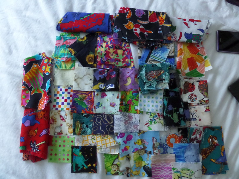 Scrap novelty fabric