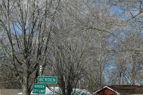 Borden Indiana, Clark County IN