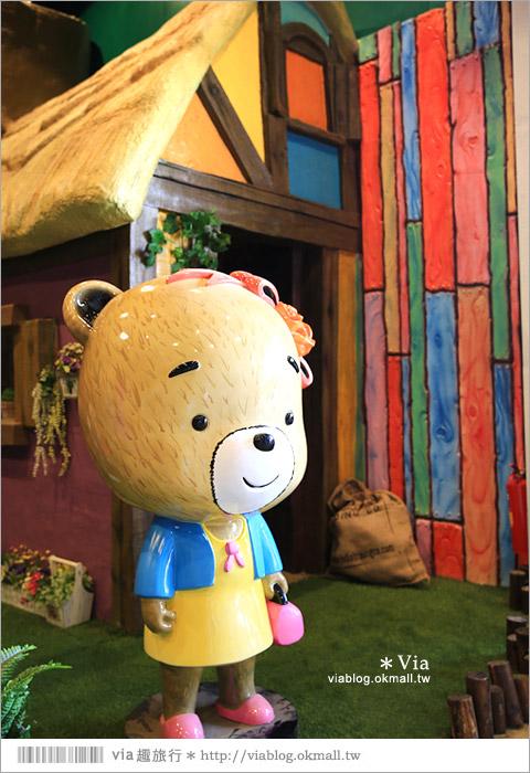 【熊大庄】嘉義民雄熊大庄森林主題園區~新觀光工廠報到!小熊的童話森林真實版17