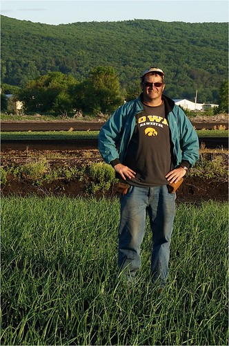 Chris Pawelski, a fourth generation farmer, grows 51 acres of onions.  He donates excess onions that would otherwise go to waste to a food rescue organization and gets a reimbursement for his efforts.