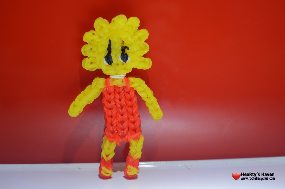 Lisa Simpson Loom Charm