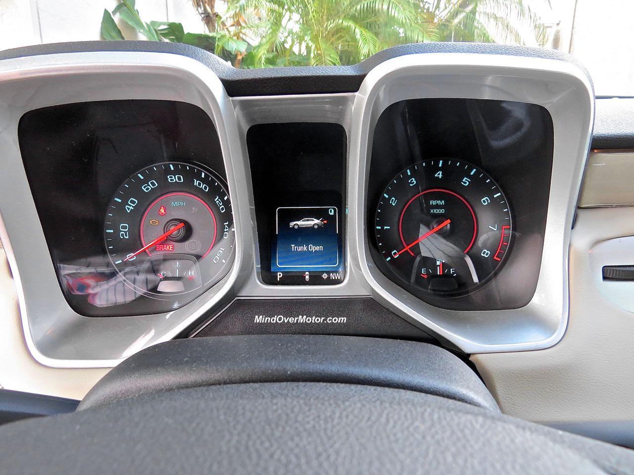 2015 Chevrolet Camaro Convertible Instrument Panel