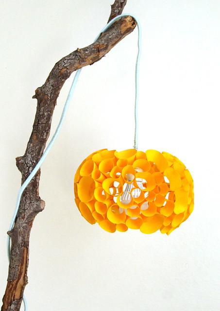 Paper Coral Lamp