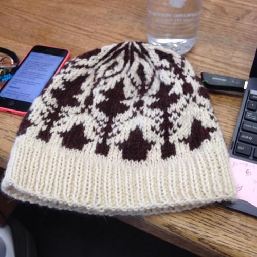 Finished 221B hat.