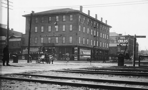 SIXTH AVENUE HOTEL IN THE EARLY 1900'S (1900-1910)
