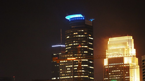 Capella Tower in Blue