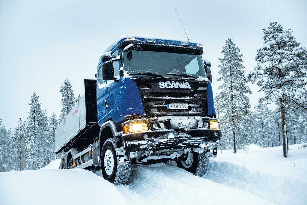 Scania G 370 6x6