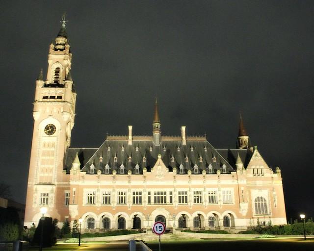 Rauhanpalatsi, Peace Palace, Haag, Alankomaat