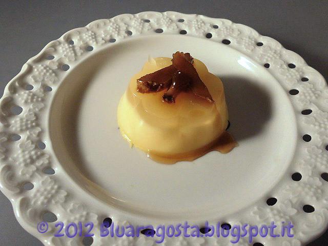 03-panna cotta al mandarino con zenzero caramellato