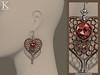 (Kunglers Extra) Amala earrings - jade