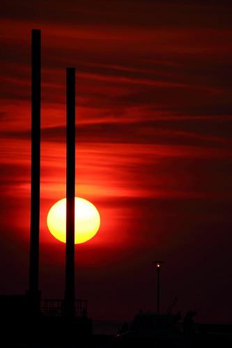 淡水 夕陽