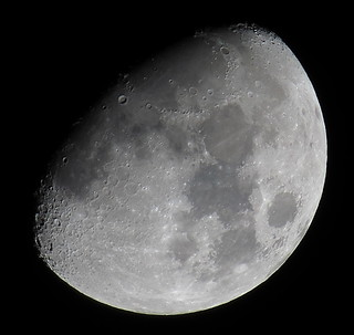 Waxing Gibbous, 76% of the Moon is Illuminated taken on March 28, 2015 with a Canon SX50 HS IMG_2700